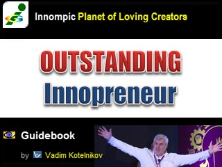 Outstanding Innopreneur e-book PowerPoint download Vadim Kotelnikov Innompic Guidebook