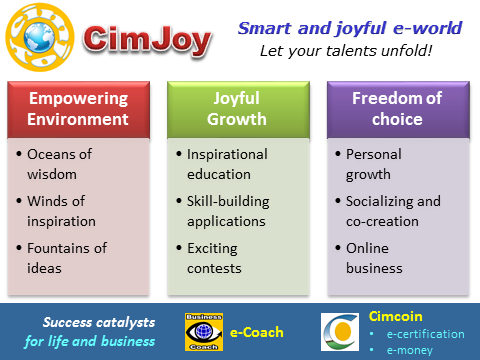 CimJoy - smart and joyful e-world, global breakthrough Internet venture, Vadim Kotelnikov