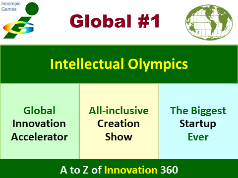 Innompic Games Global #1 Intelelctual Olympics Creation Show