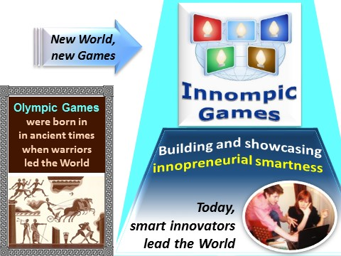 Innompic Games - example of changing the world and making a big difference, Vadim Kotelnikov