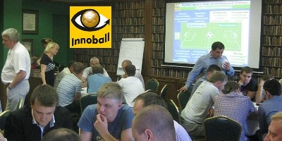 INNOBALL training to develop employee creativity for Mars Inc. by Vadim Kotelniov, the author of Innoball