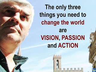 Vadim Kotelnikov quotes, photogram - how to change the world, vision, passion, action