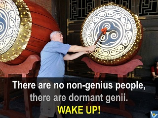 Vadim Kotelnikov quotes genius wake up photogram