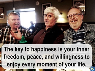Vadim Kotelnikov quotes happiness inner freedom enjoy every moment of your life