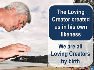 Vadim Kotelnikov quotes: Be a Loving Creator, photogram