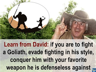 How To Win Wisely, learn from David, Vadim Kotelnikov quotes