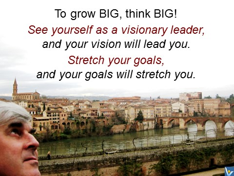 Think big to grow big. Vadim Kotelnikov selfiegram